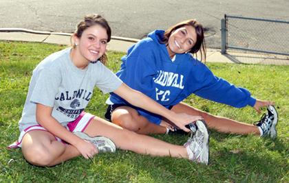 Girls cross-country contingent