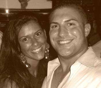 Jennifer Rylick and Nicholas Santangelo