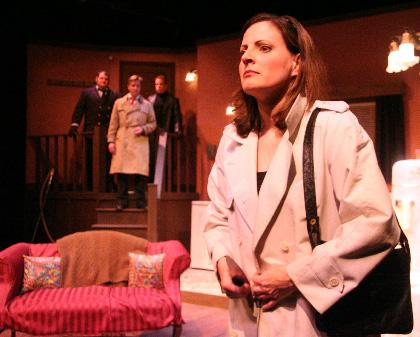 'Wait Until Dark' becomes worthy in the second act