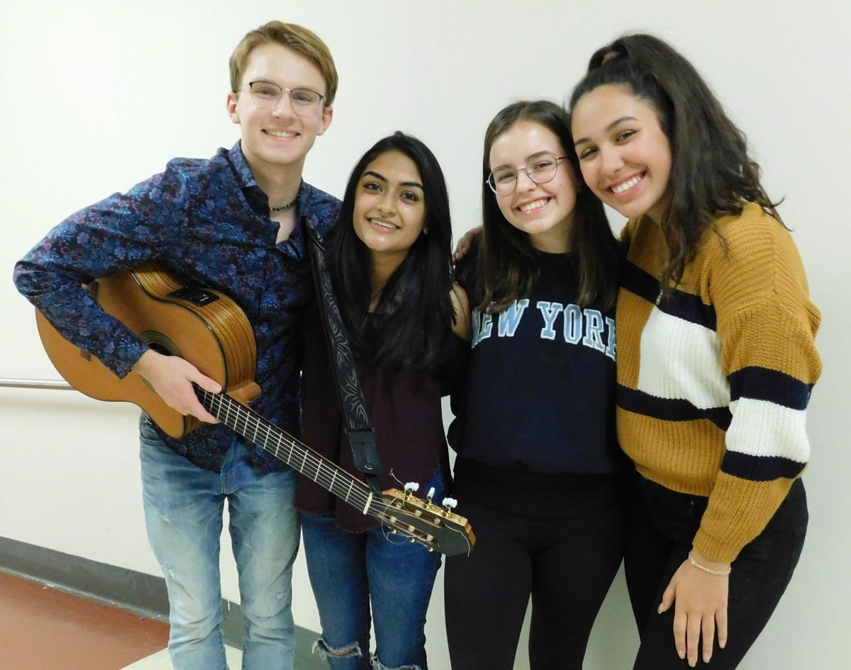 Trio sings '1000 Times' by Sara Barreilles