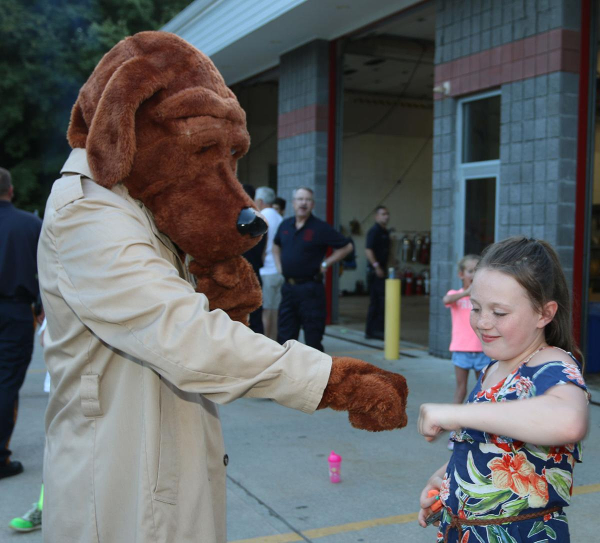 A Meeting with McGruff