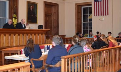 Local high schools compete in mock trial competition