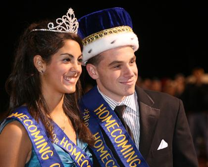 Roxbury High's Homecoming King and Queen