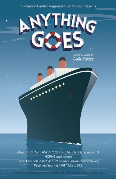 Hunterdon Central to present Cole Porter musical 'Anything Goes' in March
