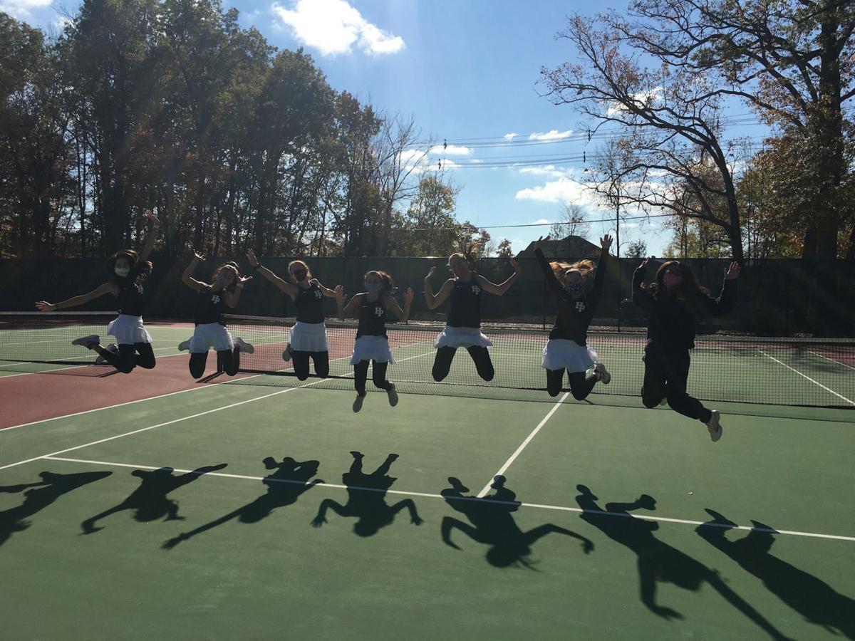 Hanover Park girls tennis