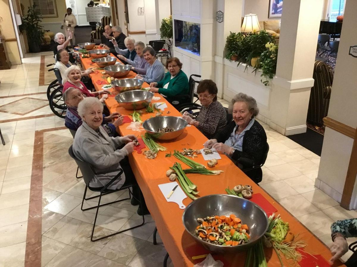 Brandywine Living residents in Watchung lend helping hands to soup kitchen