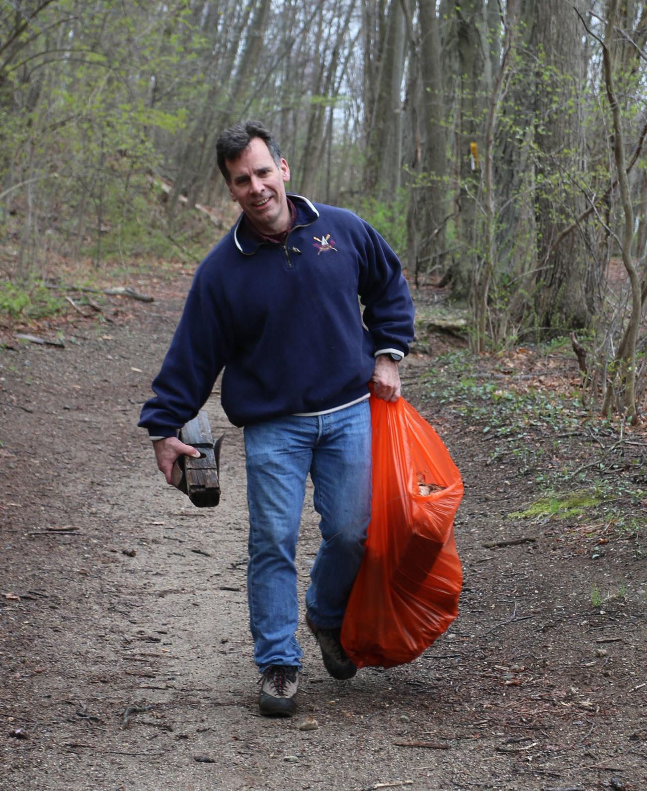 CLEANING UP THE TRAIL