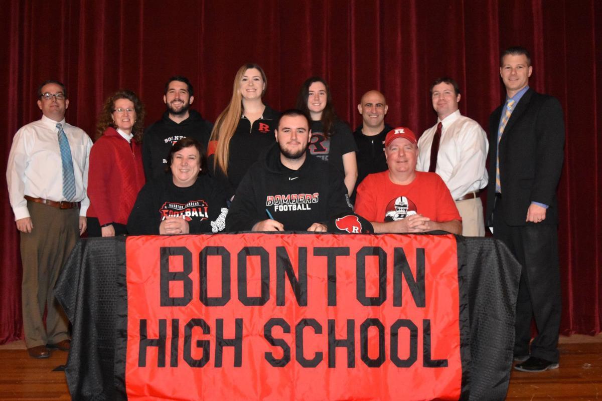 boonton high senior zarzecki signs to play football at