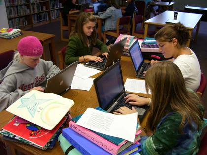 Laptops, smartboards and computers