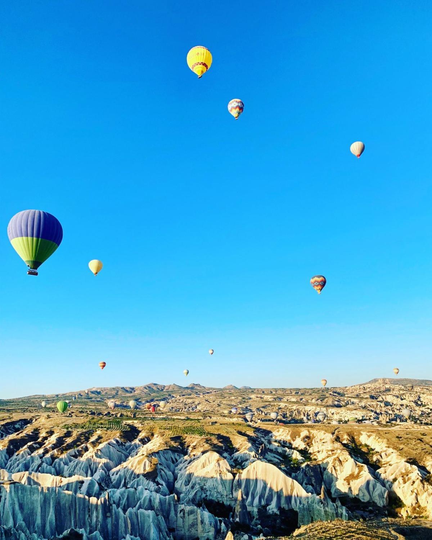 Cappadocian balloons
