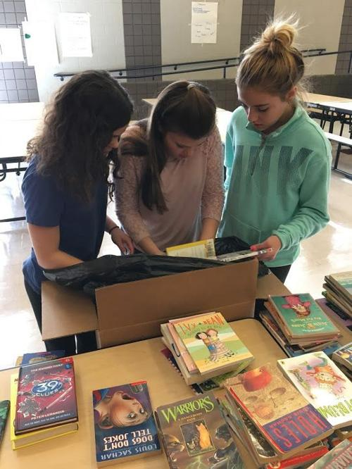 Readington Middle Schoolers start libraries in Ghana, send