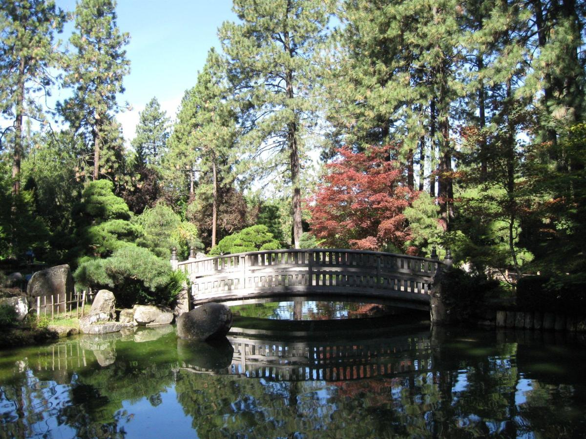 The Japanese Garden in Manito Park