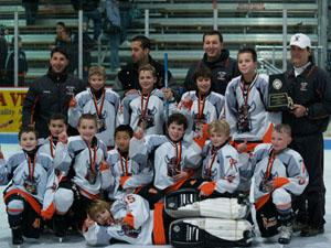 Squirts are tournament champions