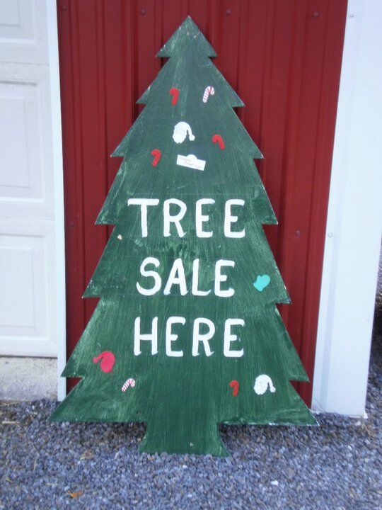 Tree Sale Here