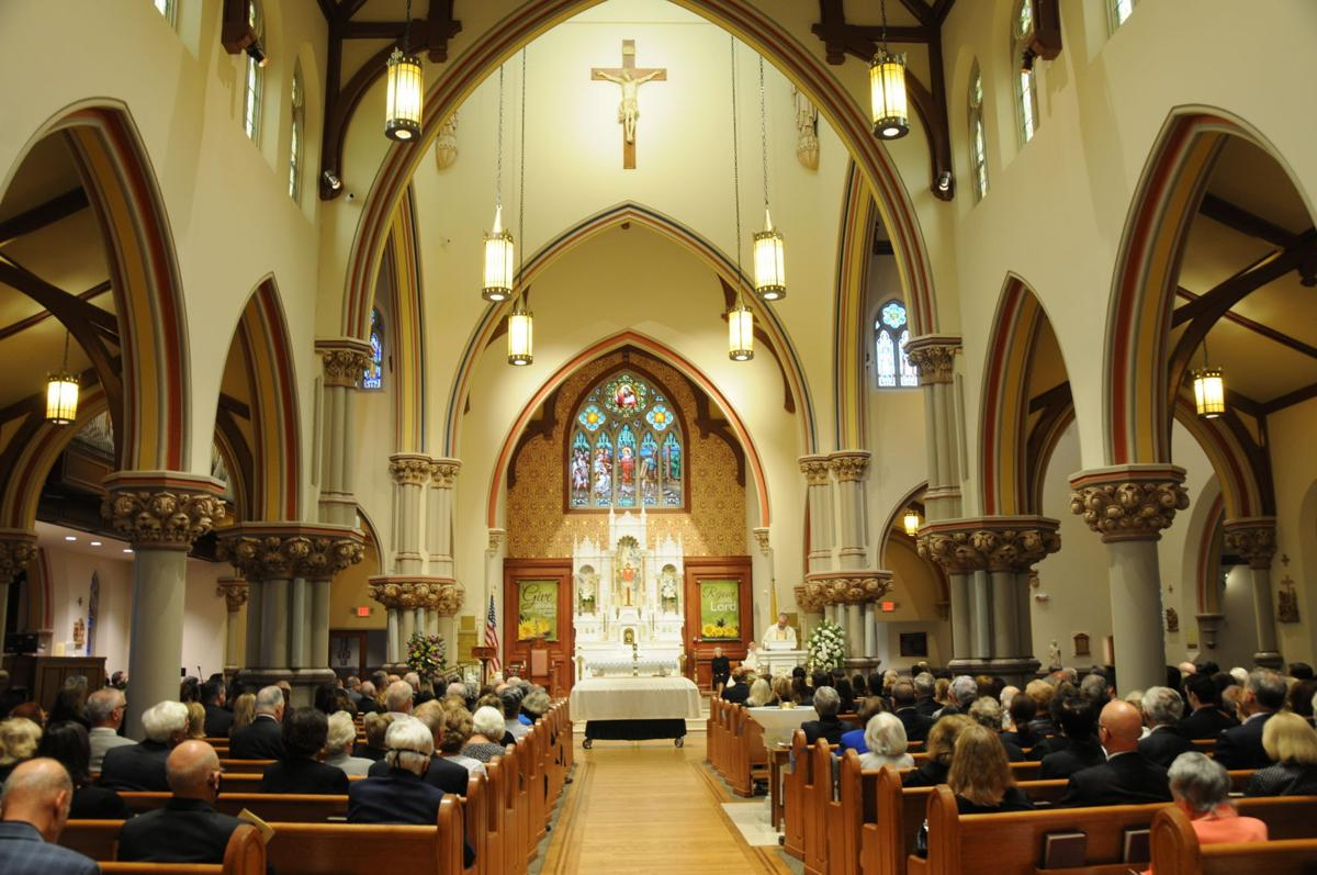 Funeral mass for Carmine Toto