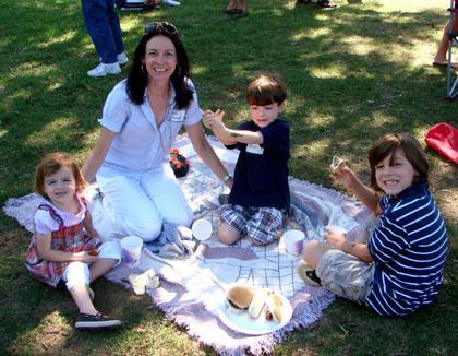 Eco-friendly picnic at St. Patrick