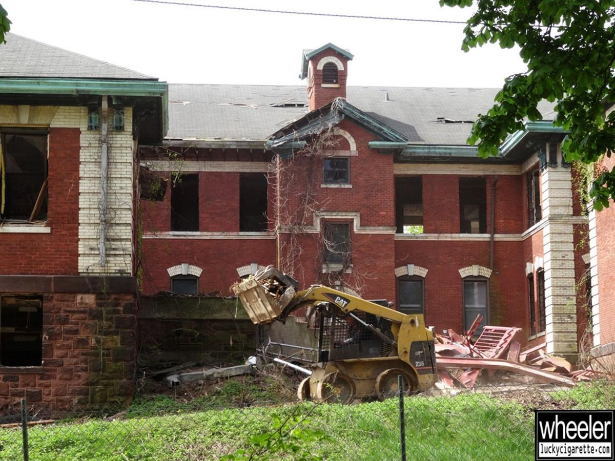 Wheeler Antabanez documents demolition of Overbrook Hospital