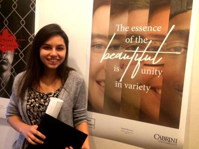 Polytech students among winners of Cabrini University's Art + Effect Poster Contest