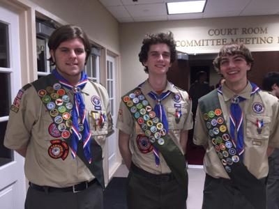 Long Hill Eagle Scouts