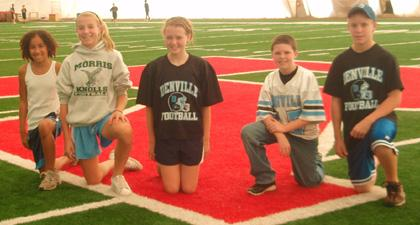 Denville's Coutts is moving on in punt, pass & kick