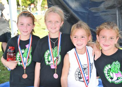 Mendham captures top five finishes