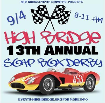 High Bridge Soap Box Derby to return on Saturday, Sept. 4