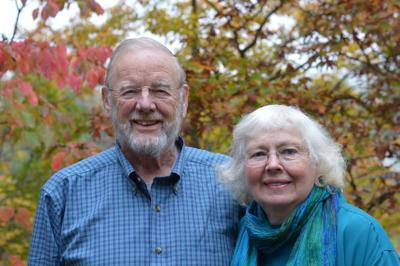DAVID DIETZ AND HIS WIFE, JANE