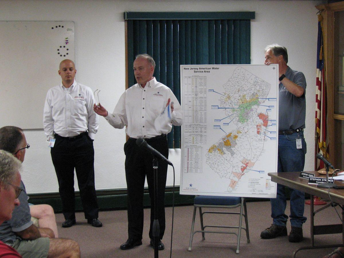 (VIDEO) N.J. American Water makes case for water system bid to High Bridge Council