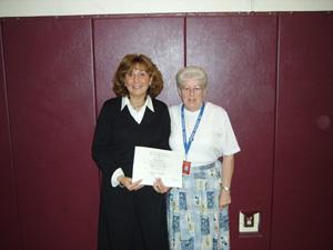 Wolford places second as 'Teacher of the Year'