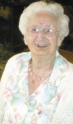 Cecile Glerum has open house for 100th birthday