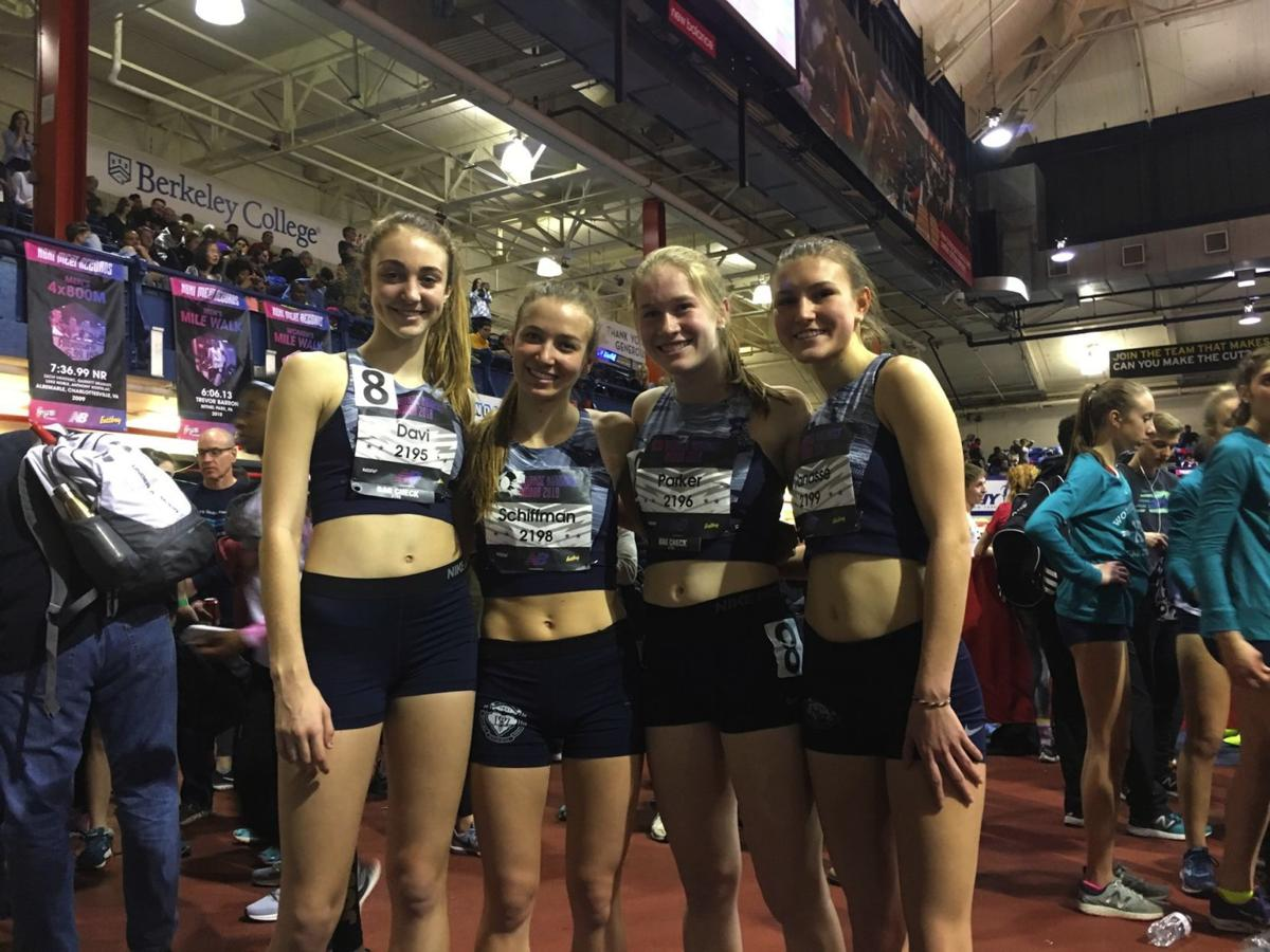 Pingry 4x800 relay team