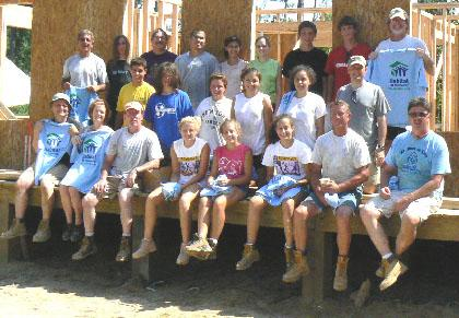 Young volunteers from Wilson Memorial Union Church still helping rebuild ravaged Mississippi coast