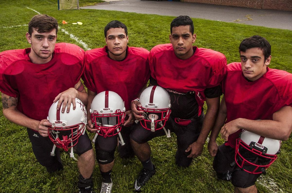 Morris Hills football captains