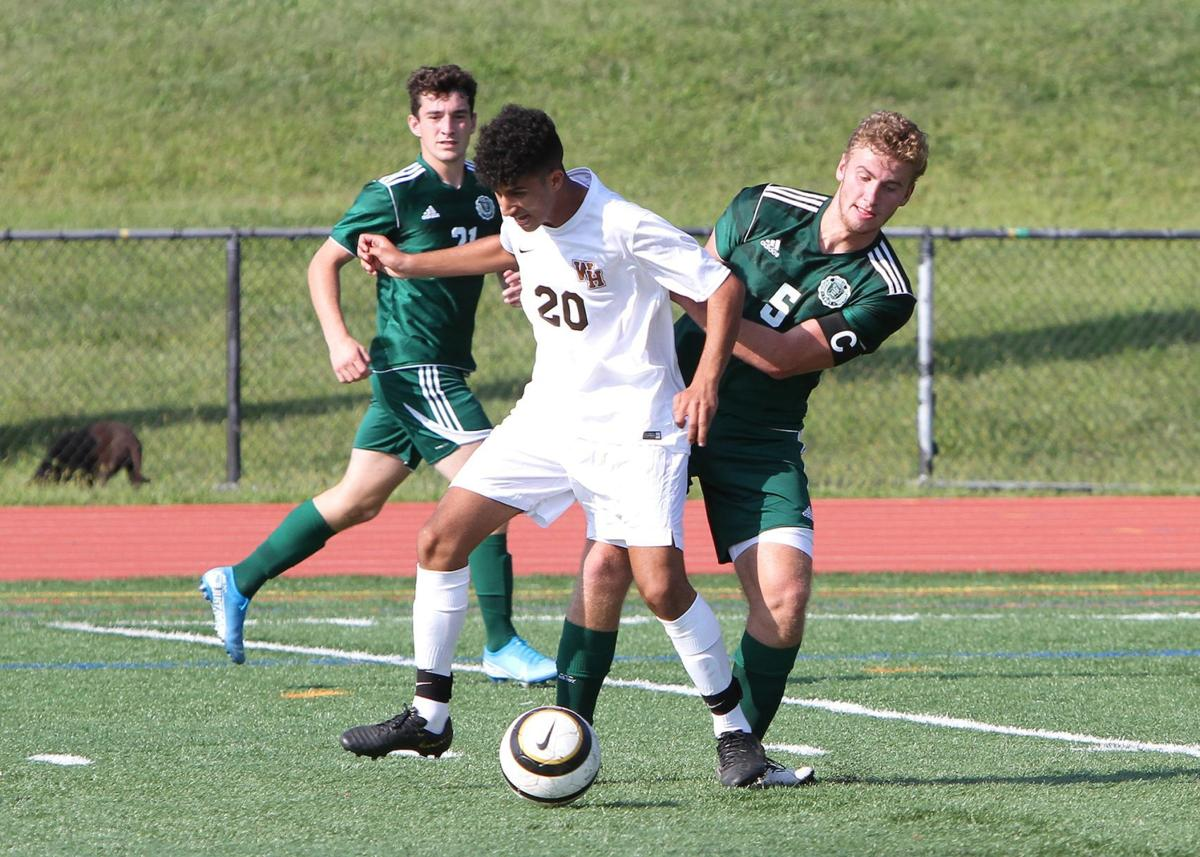 Watchung Hills boys soccer Matthew Istafanous