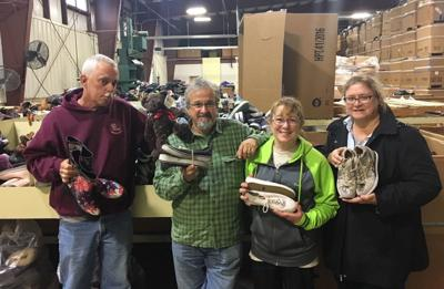 Cokesbury United Methodist collects shoes to fight global poverty