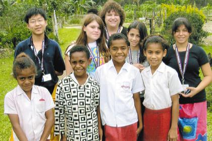 Local educator, students journey to South Pacific for 18-days