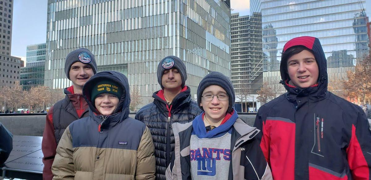 Boy Scout Troop 200 visit New York City's 9/11 memorial, museum