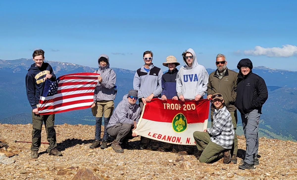 Lebanon's Boy Scout Troop 200 trek through New Mexico