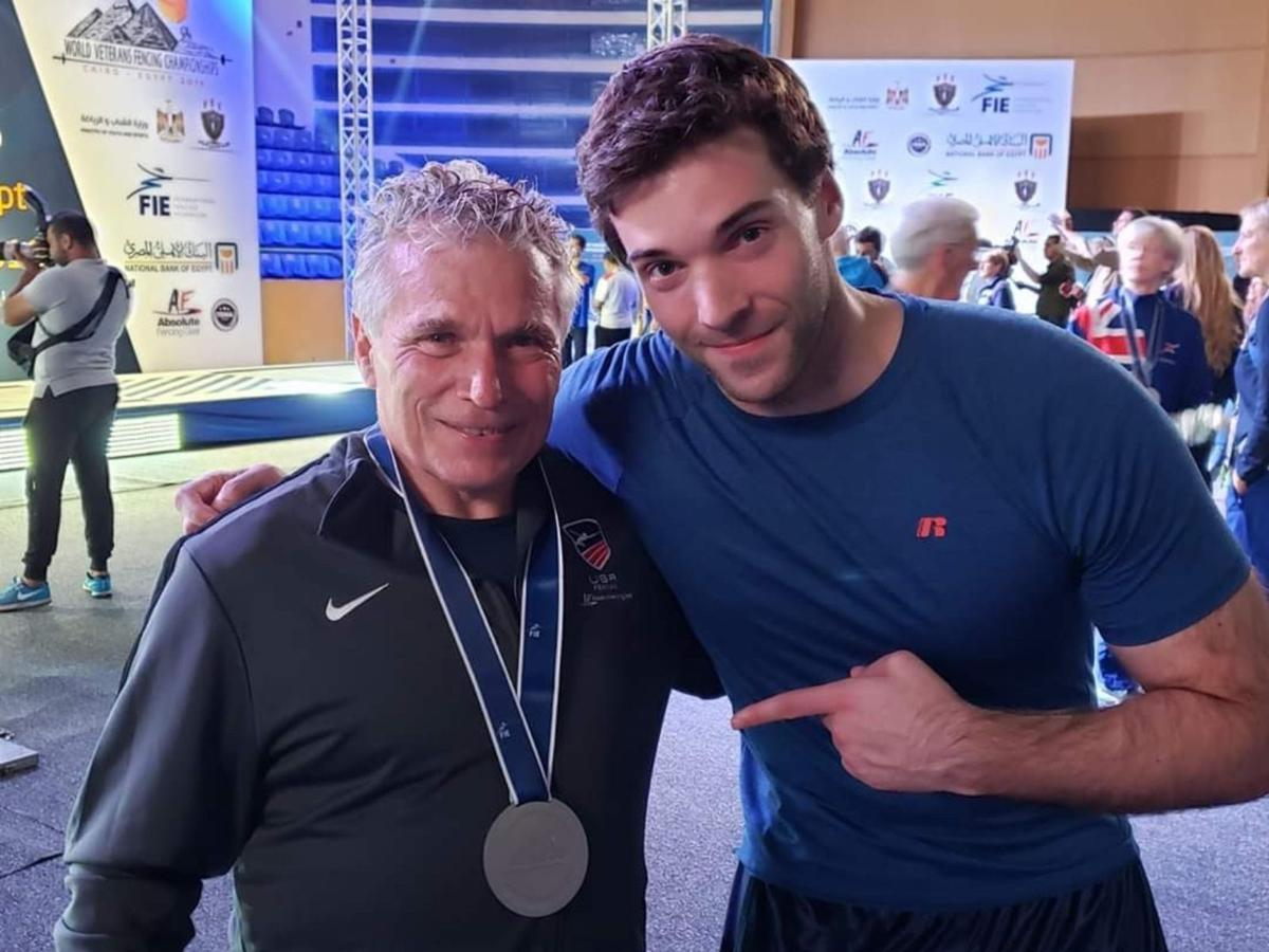 Watchung father and son soar to top of fencing world