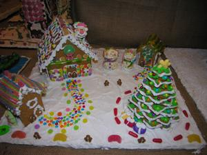 Residents earn ribbons at gingerbread house contest