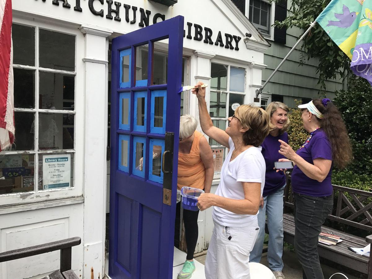 Watchung Library supporters paint for a purpose