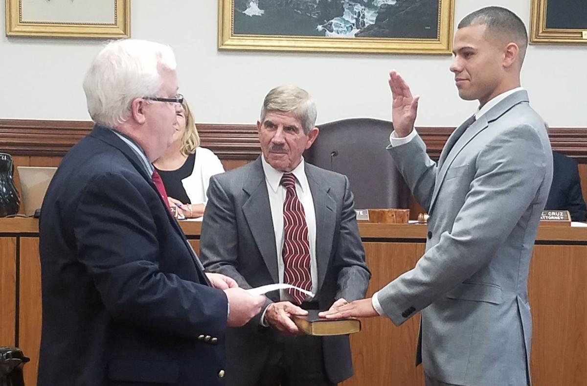 Cuevas sworn in