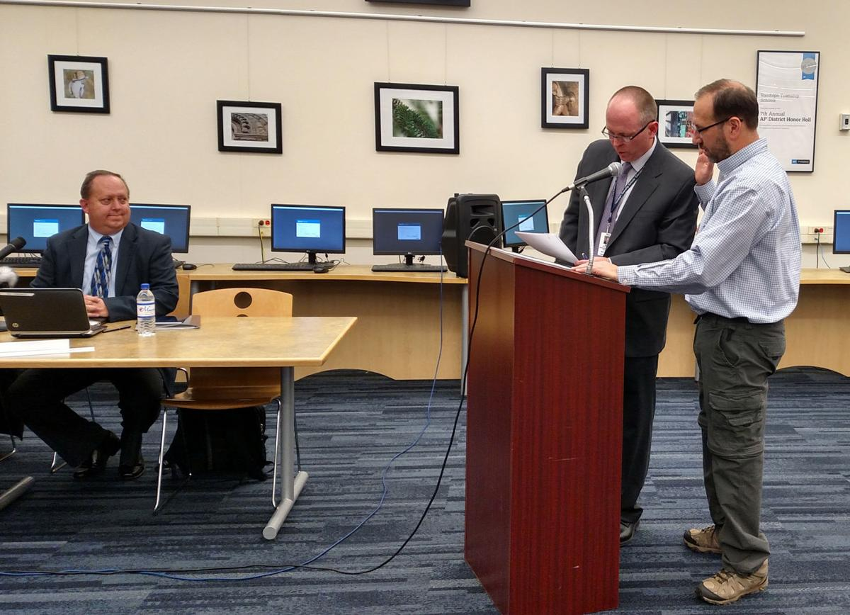 Randolph Board of Education Reorgnizes
