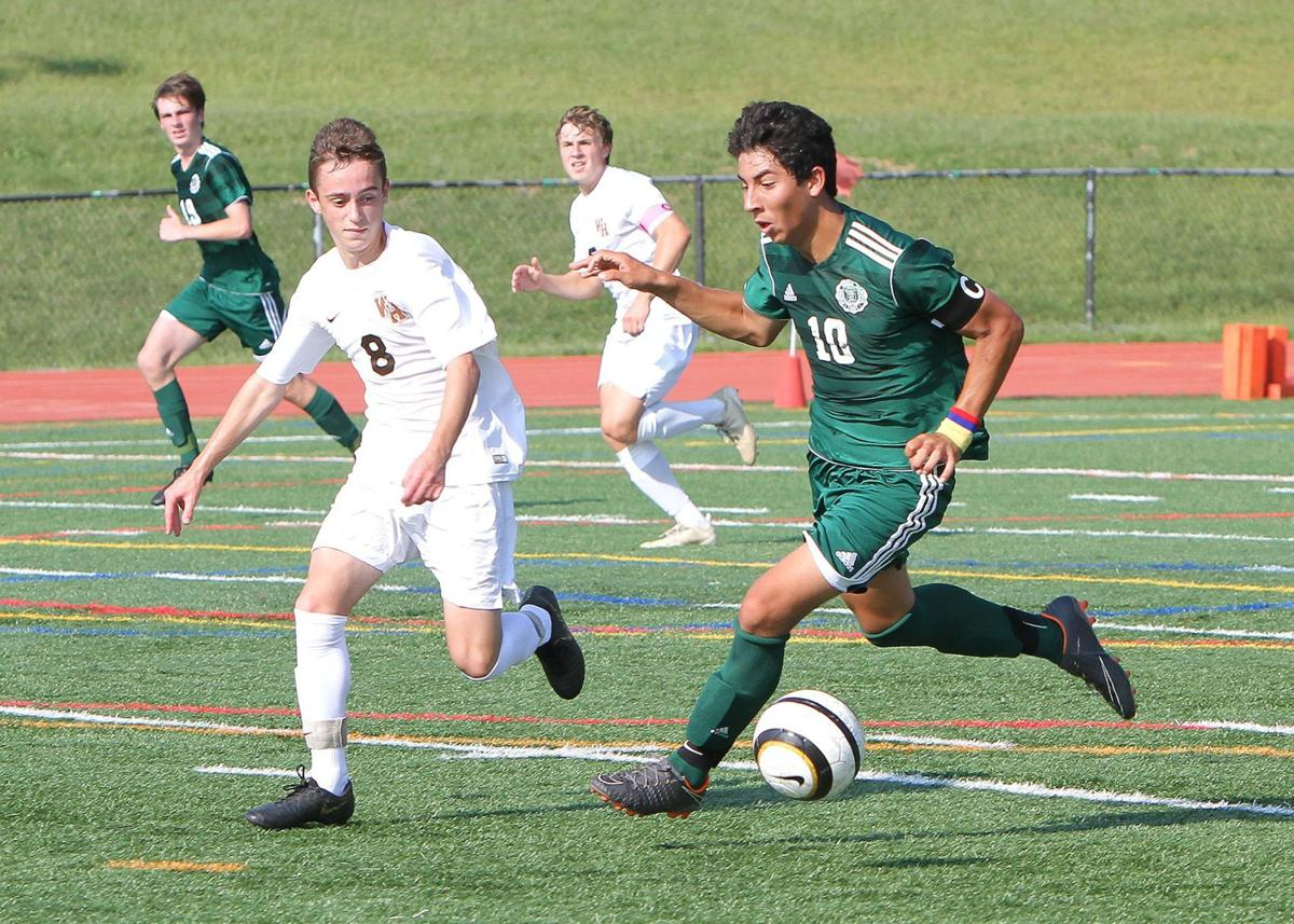Watchung Hills boys soccer Anthony Philip Ferreira