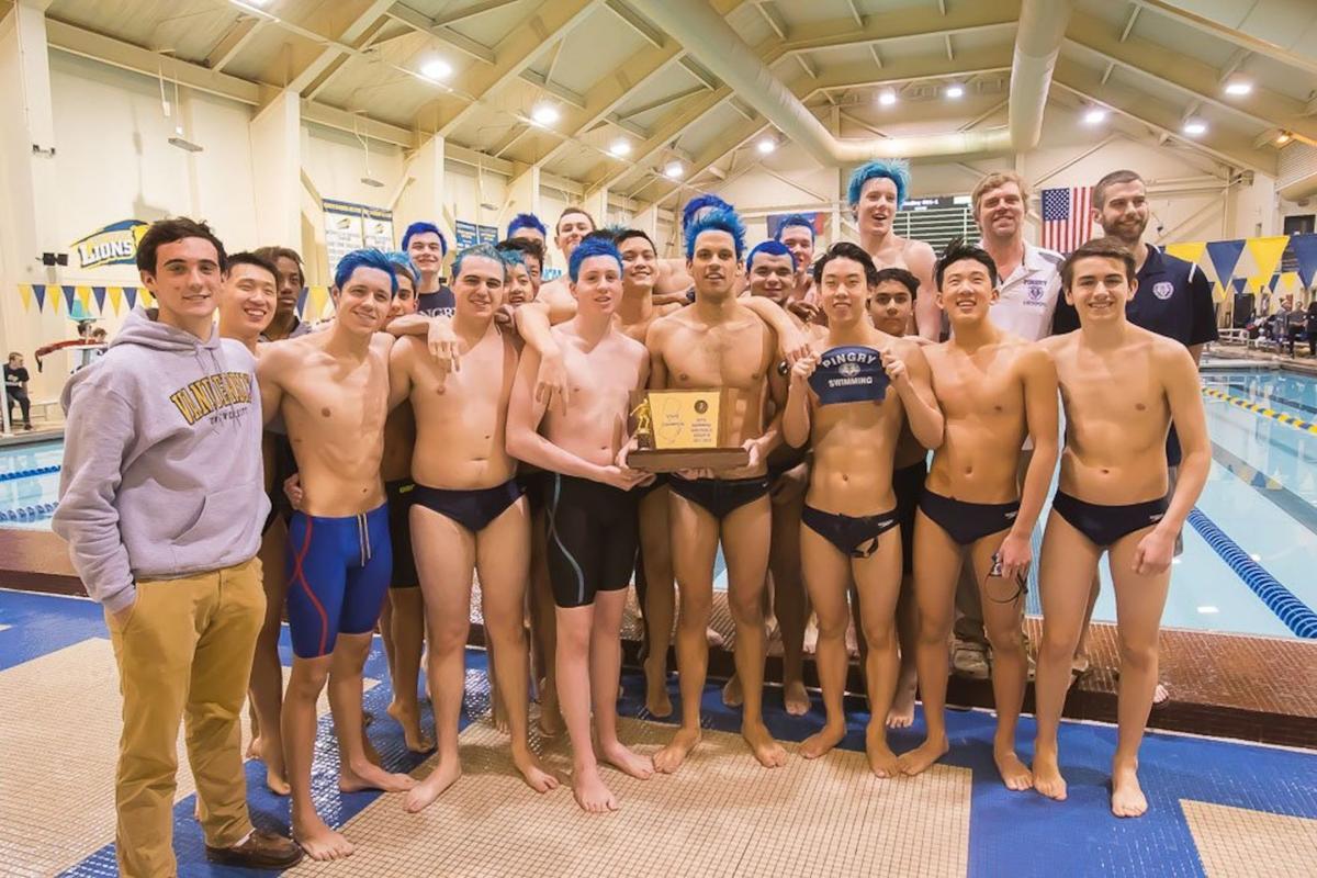 Pingry boys swim team