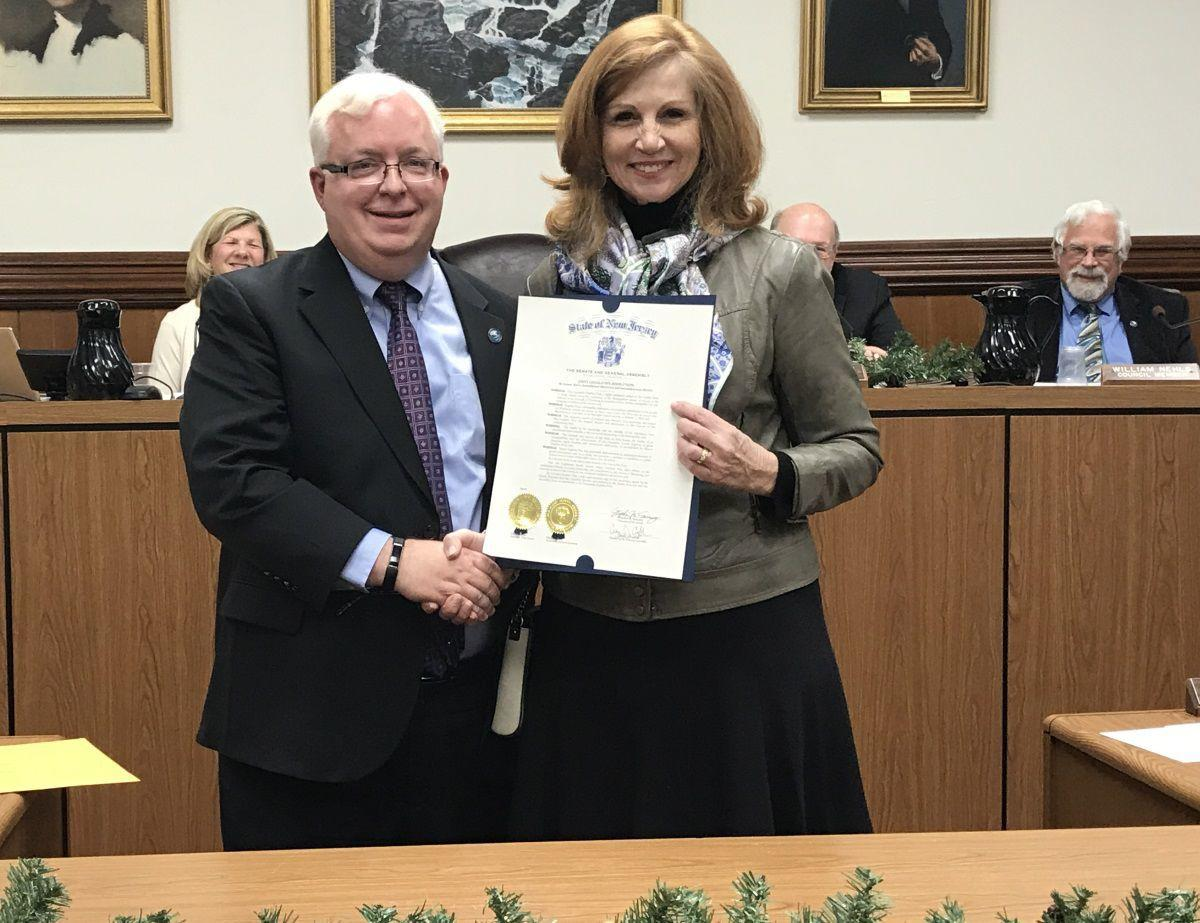 (VIDEOS) Watchung honors Mayor Pote, praises outgoing council members