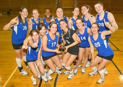 Caldwell Volley earns county crown