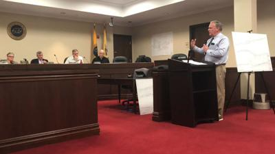 Ferriero presents Cross Hill Road plans