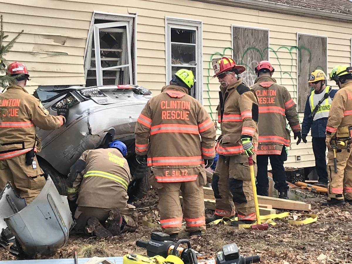 Clinton Township hosts emergency extrication drill