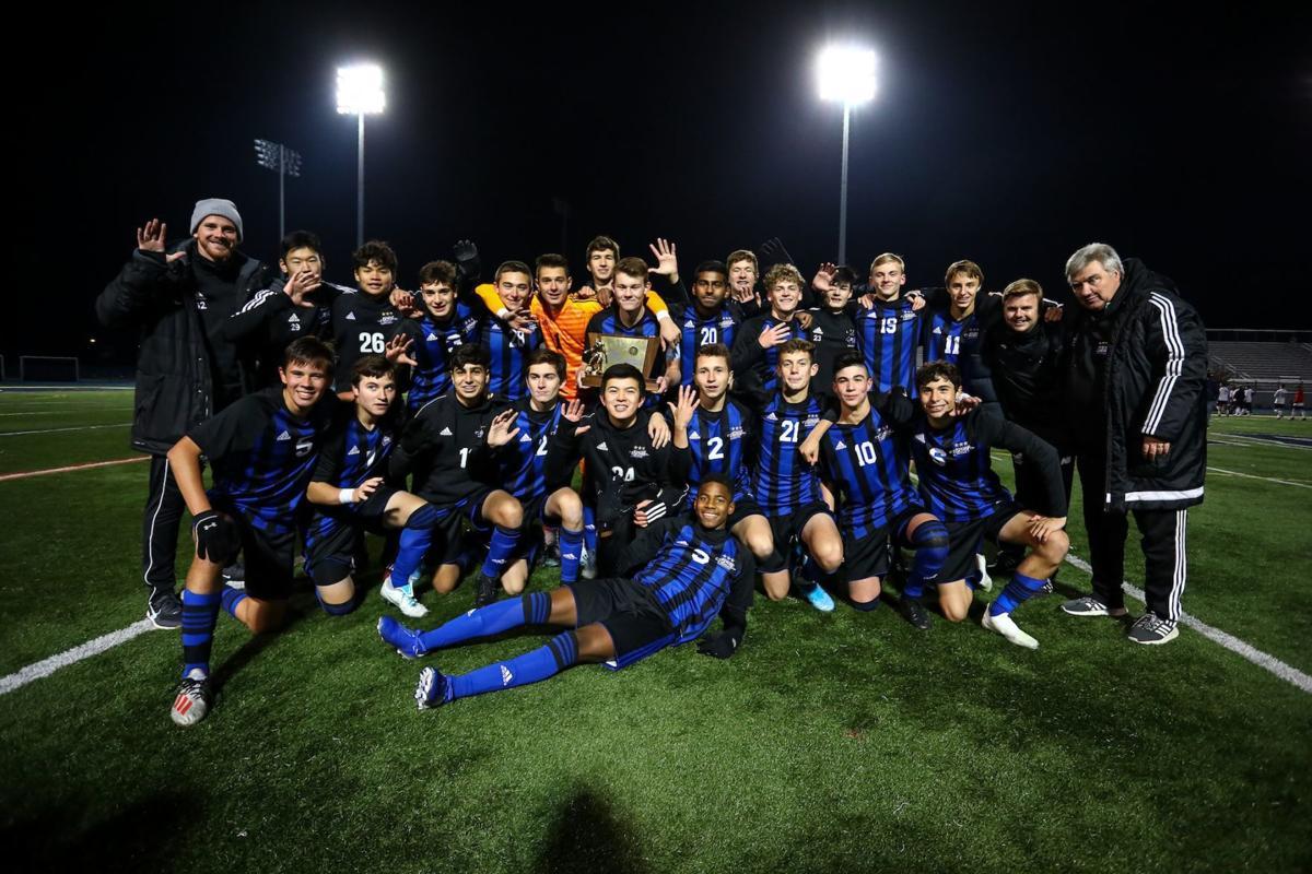 Gill St. Bernard's boys soccer champs